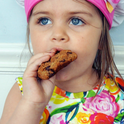 Grain-Free Chocolate Chip Mini Cookies