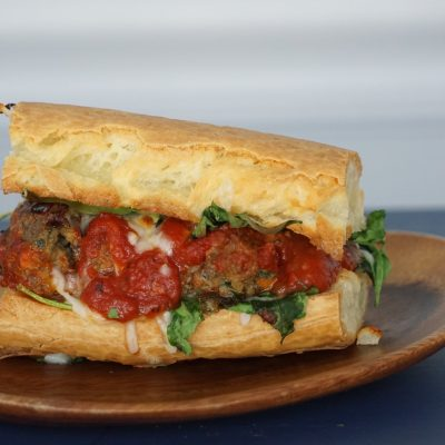 Grain Free Dinner Ideas: Meatball Sandwiches